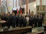 Dobrovolní hasiči uctili svatého Floriána mší svatou (15. září)