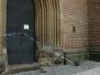 Poškození katedrály větrem (29. říjen)