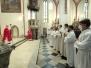Svátek svatého Vojtěcha - uvedení do služby akolitů (23. dubna)
